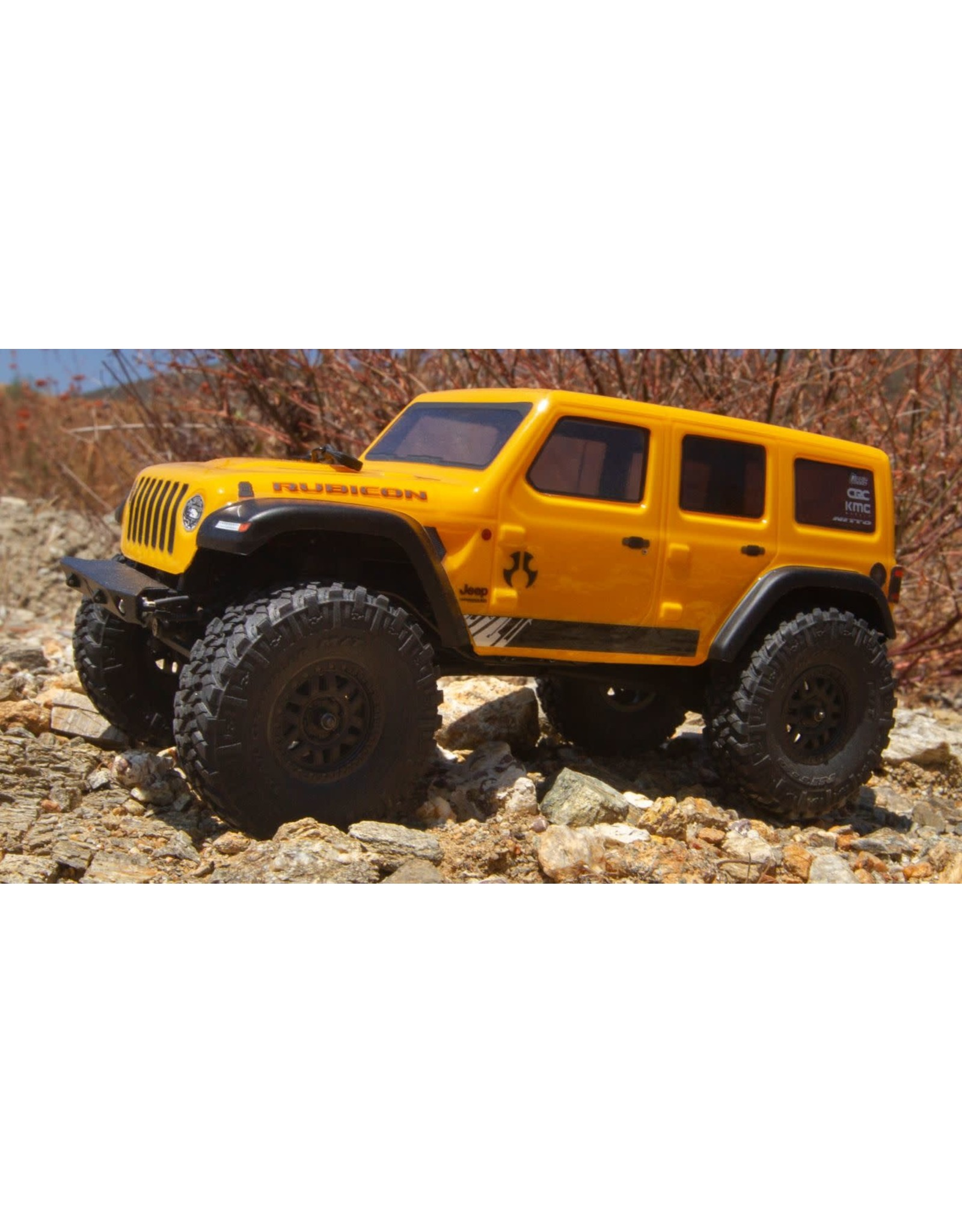 Axial Axial SCX24 2019 Jeep JLU CRC RTR Yellow AXI00002T2