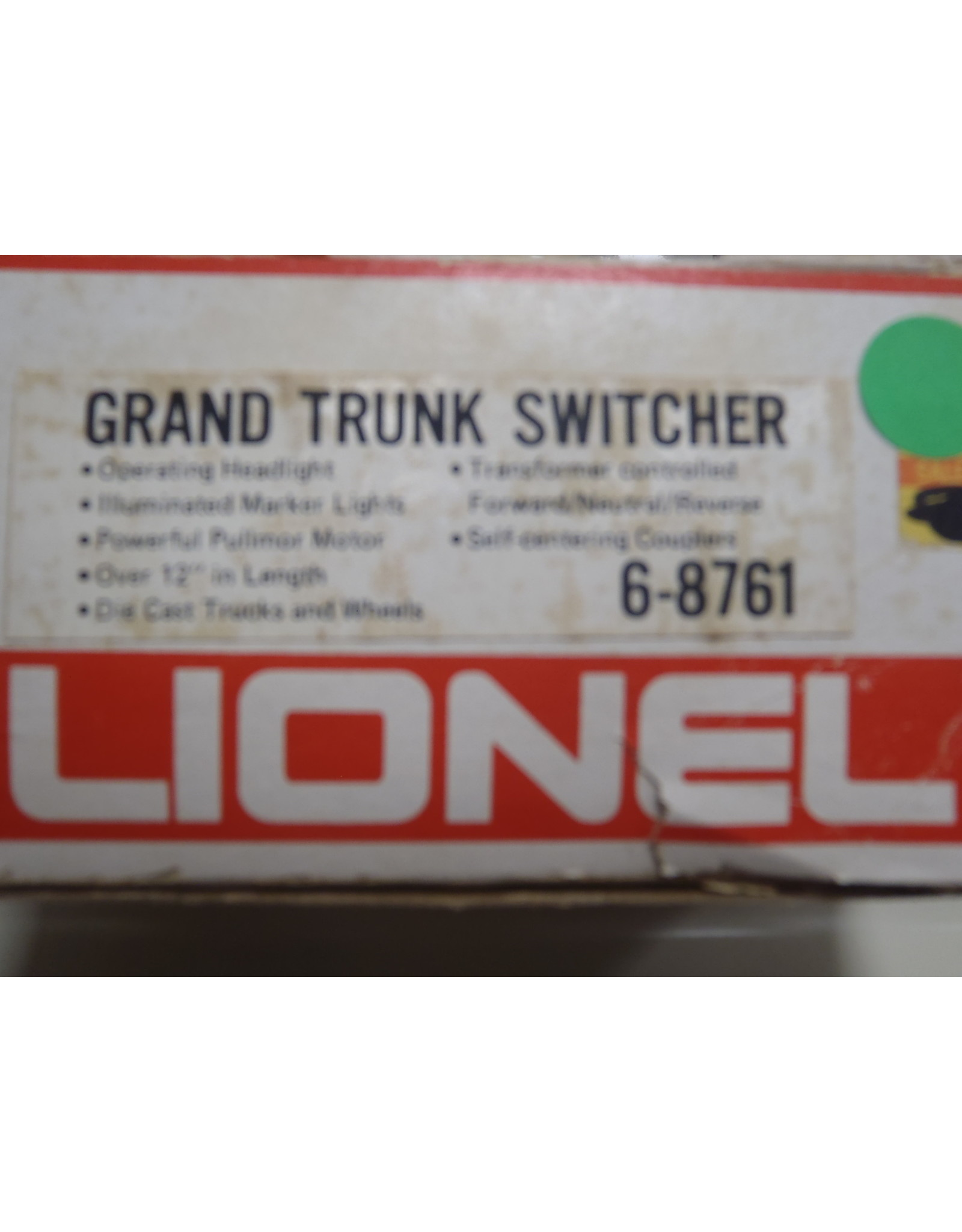 Lionel Lionel  Grand Trunk Switch 6-8761