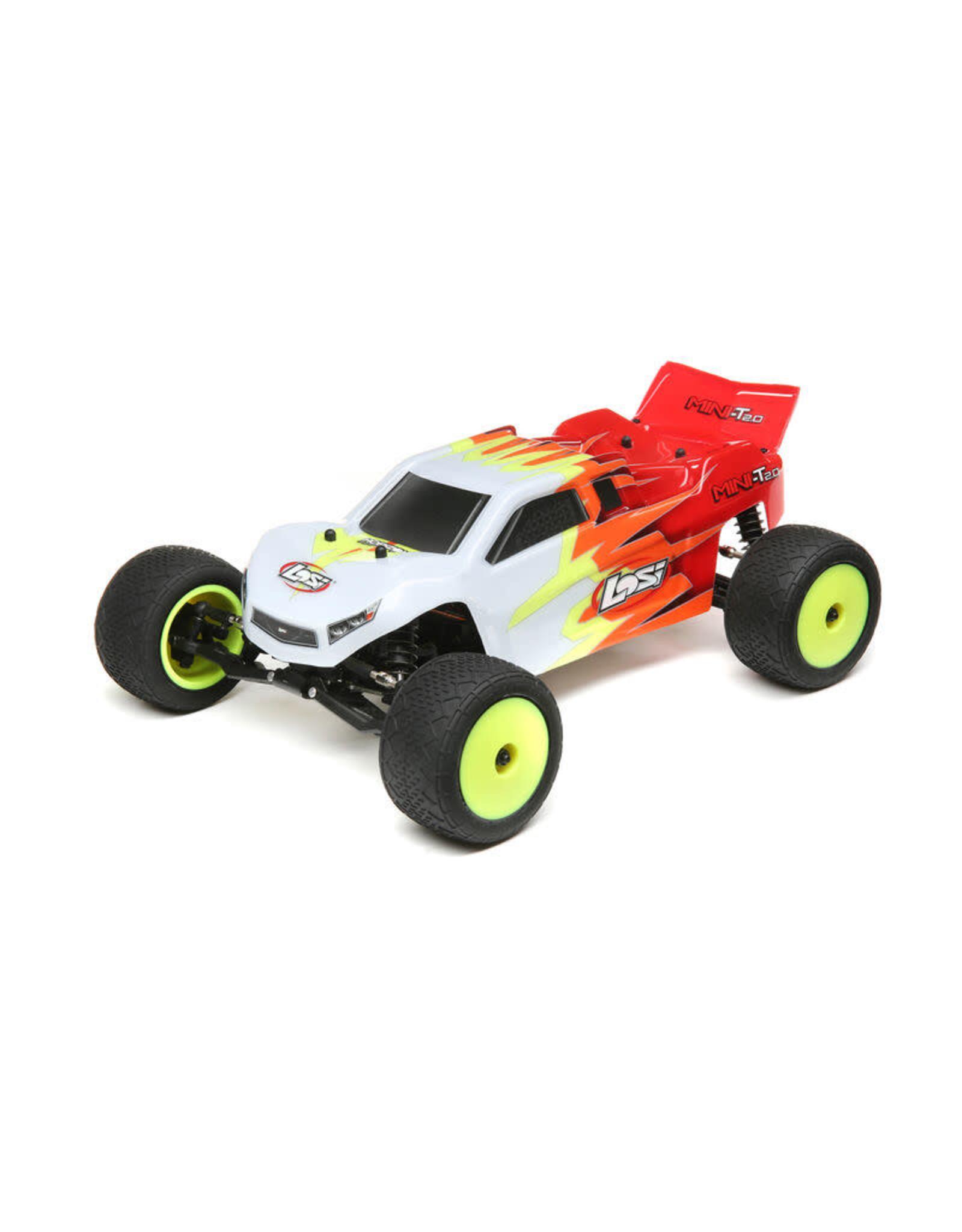 LOSI Mini T 2.0 ORTR red/white 1/18 2wd  LOS01015T1