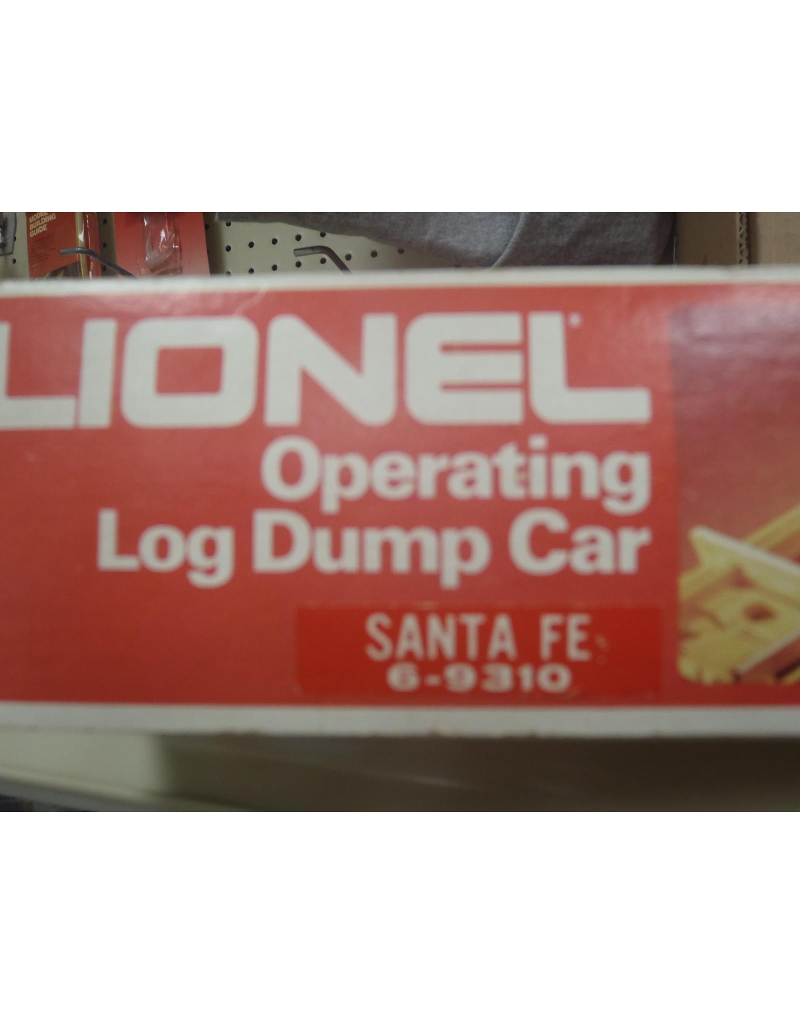 Lionel Operating Log Dump Car