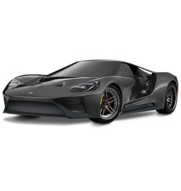 "Traxxas 83056-4_BLK Ford GT"": 1/10 Scale AWD Supercar with TQi Traxxas Link Enabled 2.4GHz Radio System & Traxxas Stability Management (TSM)"