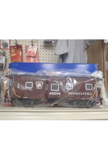 USA Trains Bay Window Caboose -- Pennsylvania Railroad (red/black)