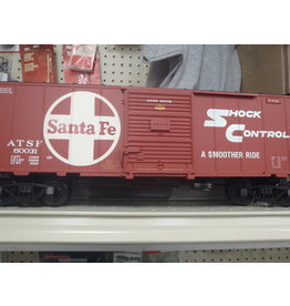 Aristocraft ART 46003 Aristocraft ATSF/Santa Fe Railroad Box Car Factory New, G Scale.