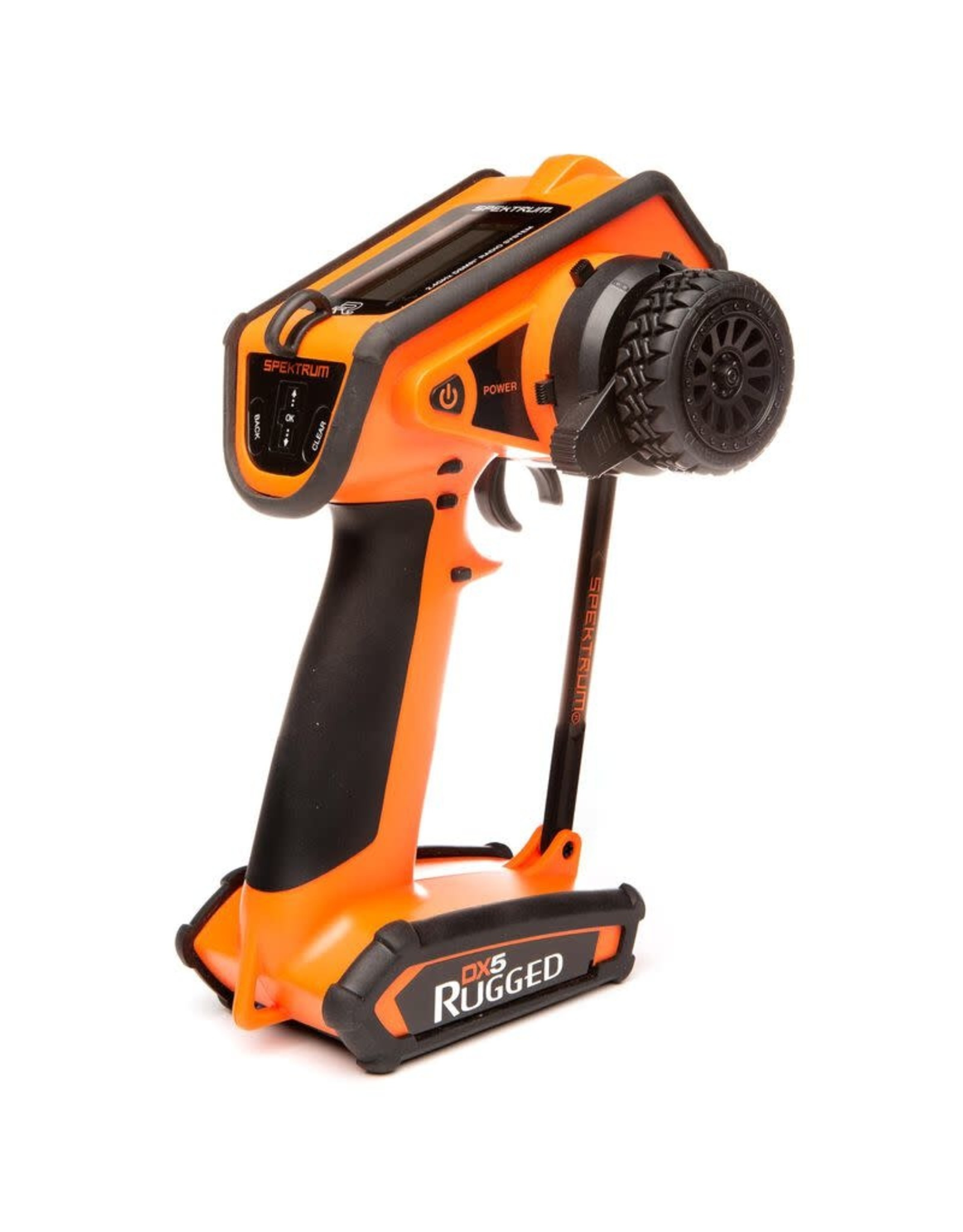 Spektrum DX5 Rugged DSMR TX  only Orange SPMR52000