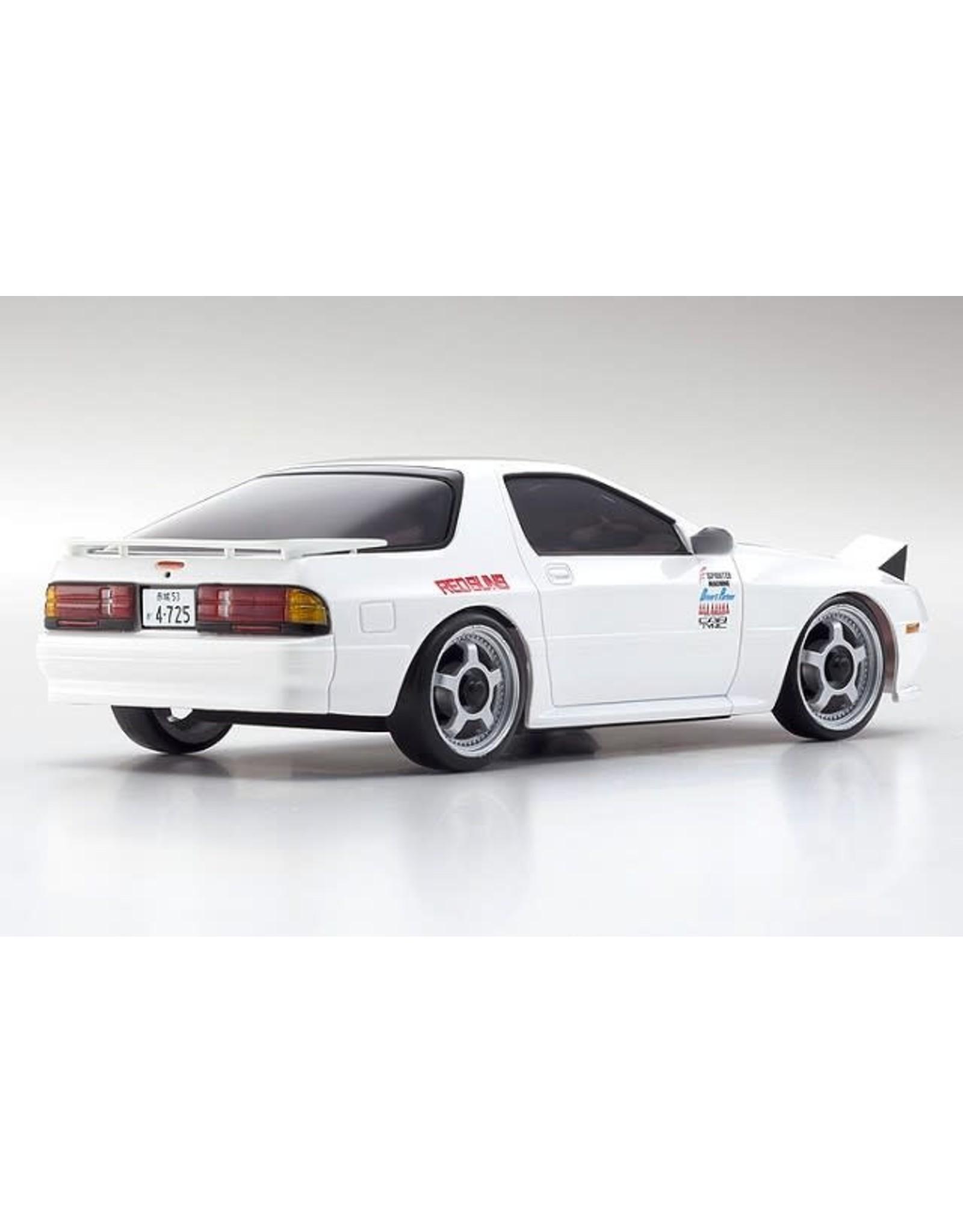 Kyosho Mini Z AWD Initial D Savanna RX-7 Mazda FC3S White 32611W