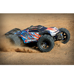 Traxxas E-REVO Orange 1/10 4wd 86086-4