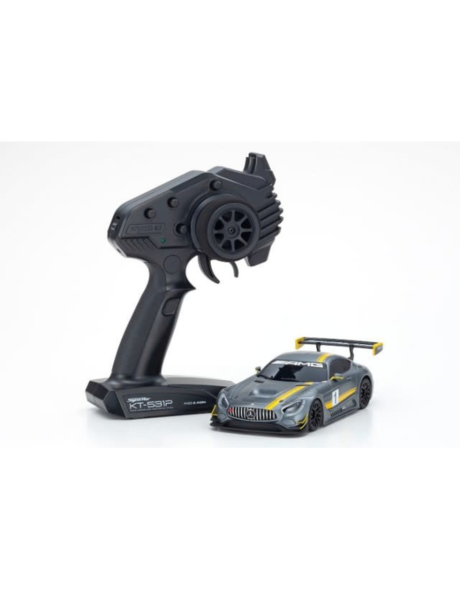 Kyosho Mini Z RWD MR-03 AMG  GT3 Presentation
