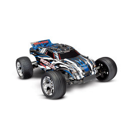 Traxxas Traxxas 37054-1 - 1/10 Rustler XL-5 2WD RTR Stadium Truck - Blue