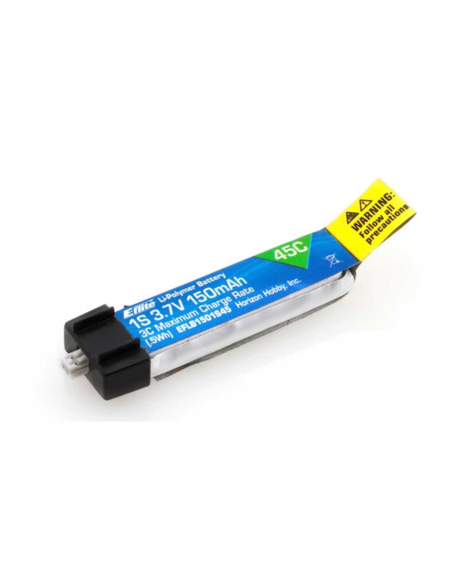 EFL 150mAh 1S 3.7V 45C LiPo Battery