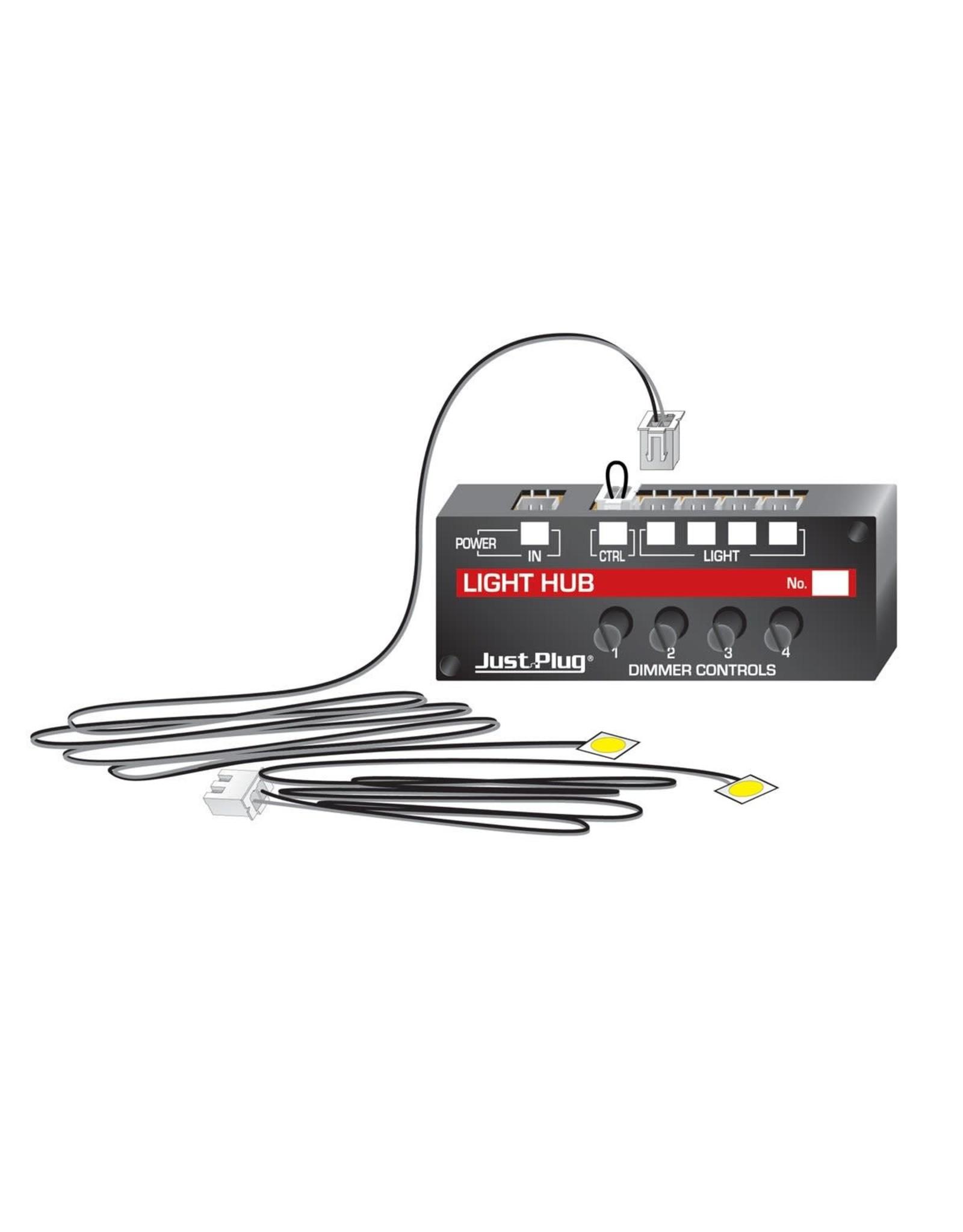Woodland Scenics Expansion Hub - Just Plug Lighting System -- Use w/#785-5700 or 5701