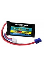 Lectron Pro Lectron Pro7.4 660mah 25c lipo battery with ec2 connector for losi mini t 2S860-25-Ec2