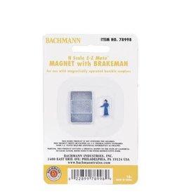 Bachmann Magnet  w/Brakeman Figure
