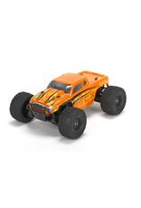 ECX Ruckus 1/18 4WD Monster Truck: Orange/Yellow RTR