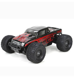 ECX Ruckus 1/18 4WD Monster Truck: Black/Red RTR