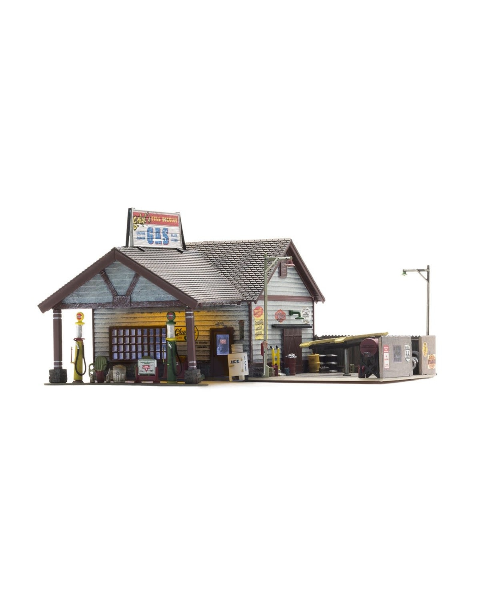 Woodland Scenic Ethyl's Gas & Service 4935