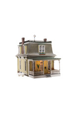 """Woodland Scenics Home Sweet Home - Built-&-Ready Landmark Structures(R) -- Assembled - 4-1/4 x 7-1/8""""  10.8 x 18.1cm"""