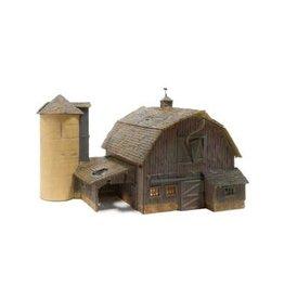 WOO HO B/U Old Weathered Barn
