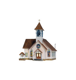 Woodland Scenics Community Church - Built & Ready 5041