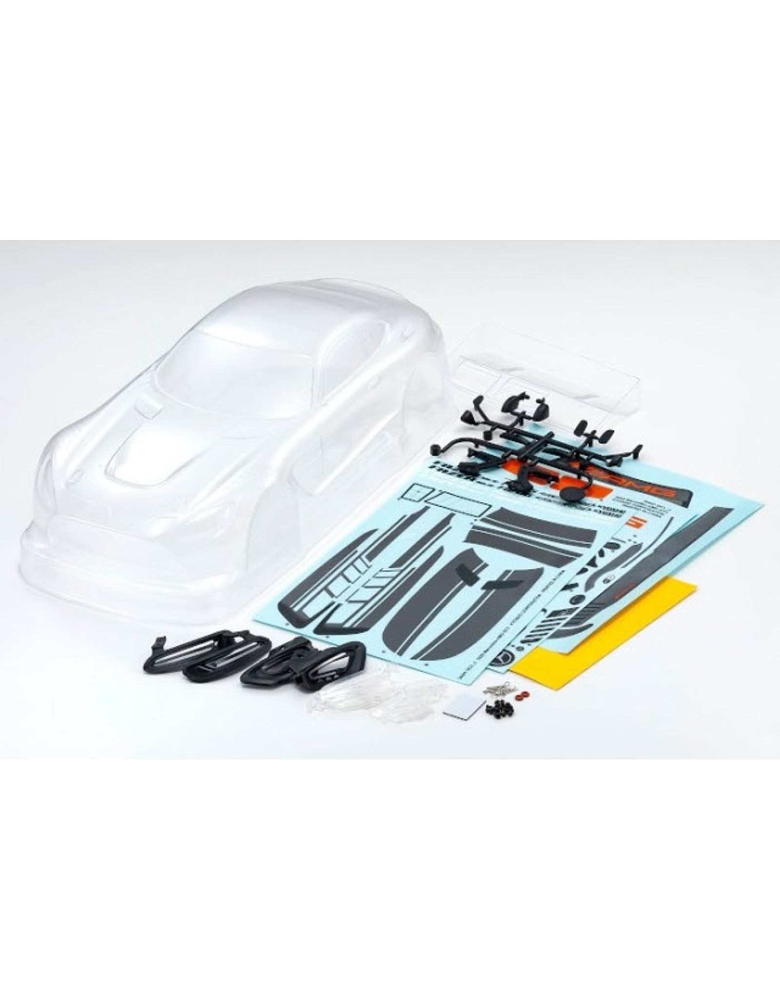 Kyosho 34441 Fazer Mk.2 FZ02 Chassis Kit with Mercedes GT3 2020 clear body