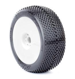 AKA NYA 1/8 EX Gridiron II EVO mounted-Whit Tire