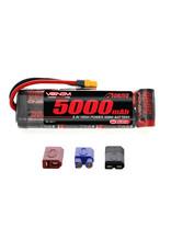 Venom 8.4V 5000mAh 7-Cell DRIVE Flat NiMH Battery: UNI 2.0 Plug