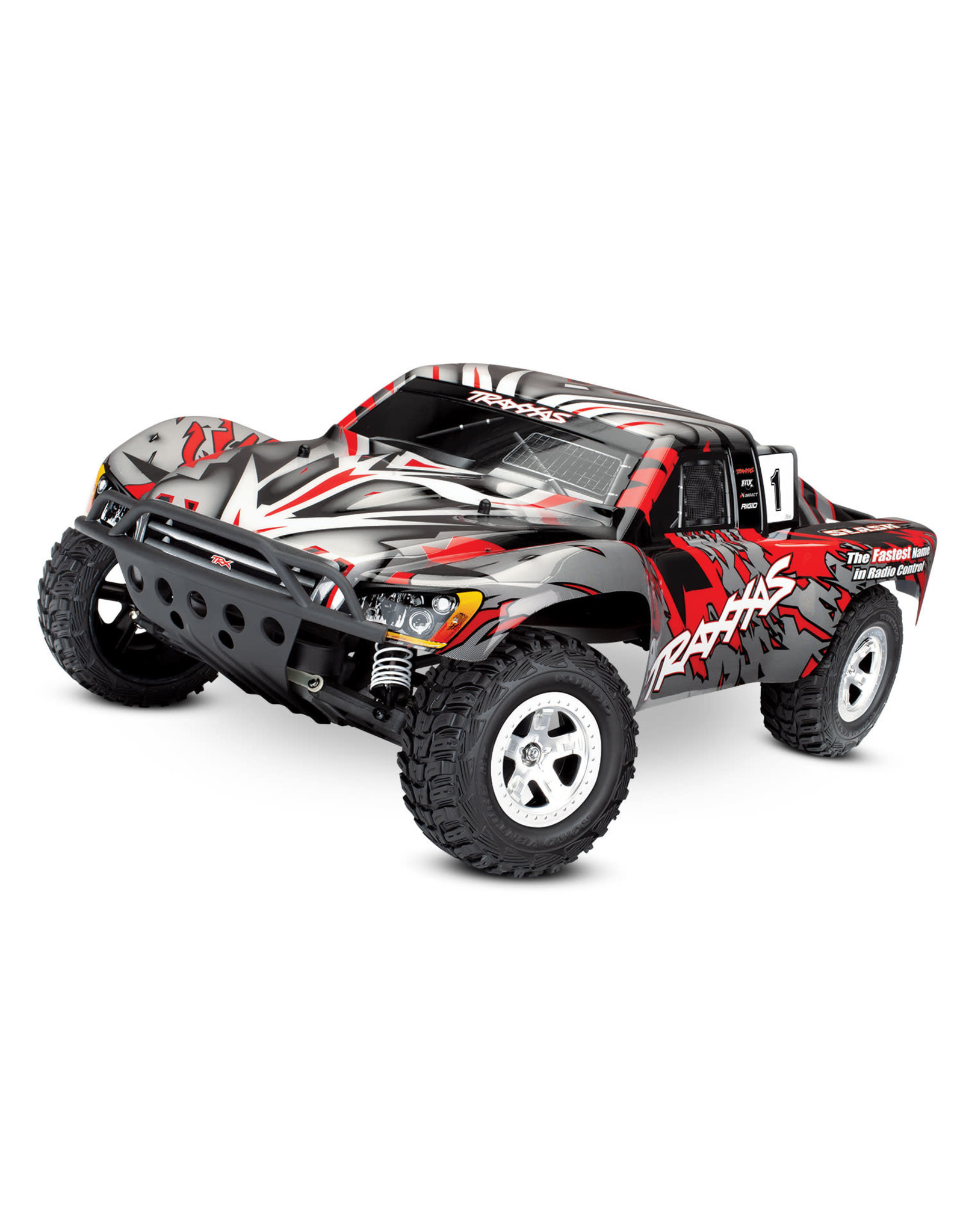 Traxxas Slash 1/10 2WD Red, Xl-5 RTR w/2.4GHz Radio - No Battery or