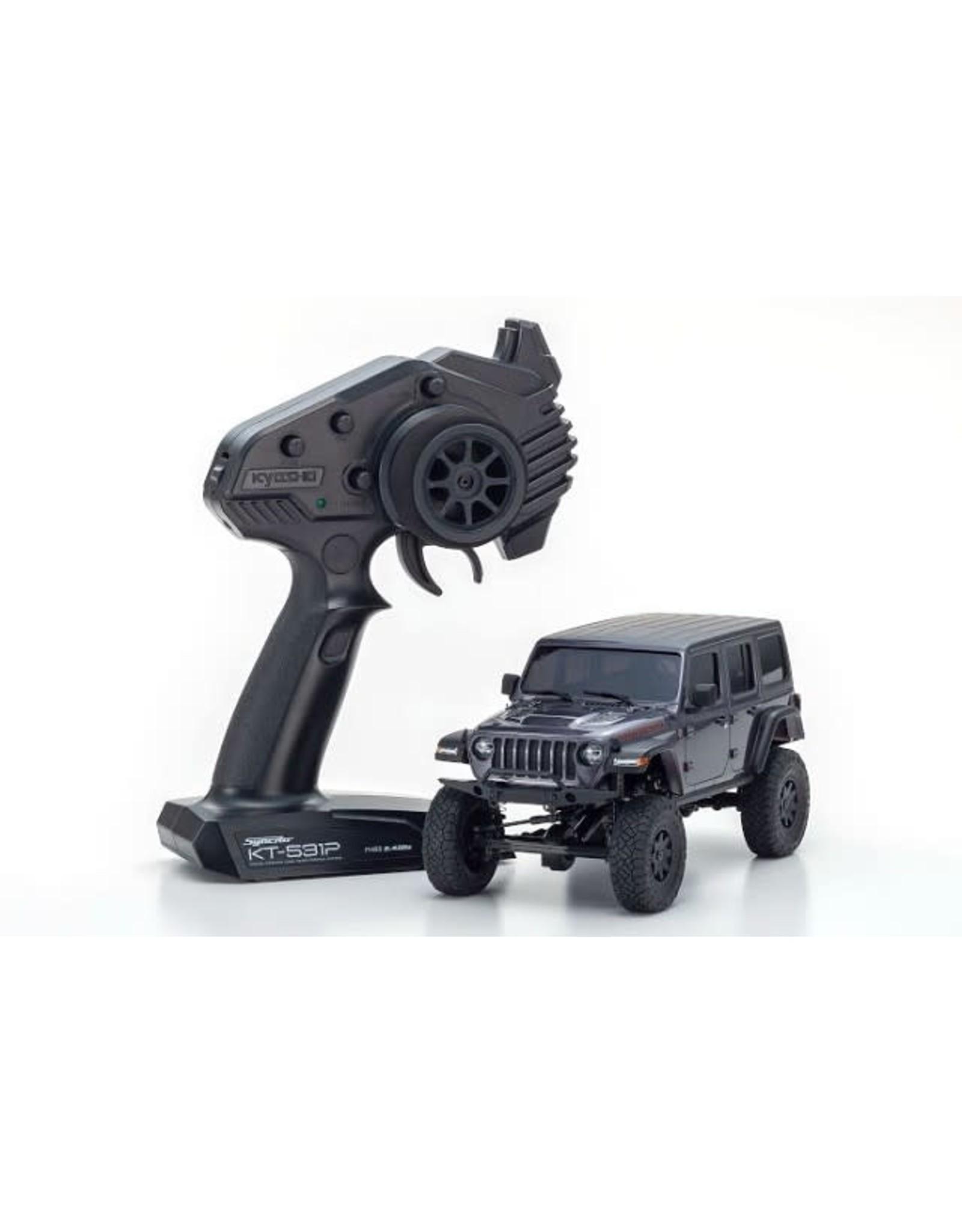 Kyosho 32521GM MINI-Z 4×4 Jeep Wrangler Unlimited Rubicon Granite Crystal Metallic RS