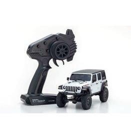Kyosho 32521W MINI-Z 4×4 Jeep Wrangler Unlimited Rubicon Bright White RS
