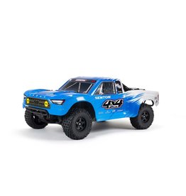 ARRMA 1/10 SENTON 4X4 V3 MEGA 550 Brushed Short Course Truck RTR, Blue