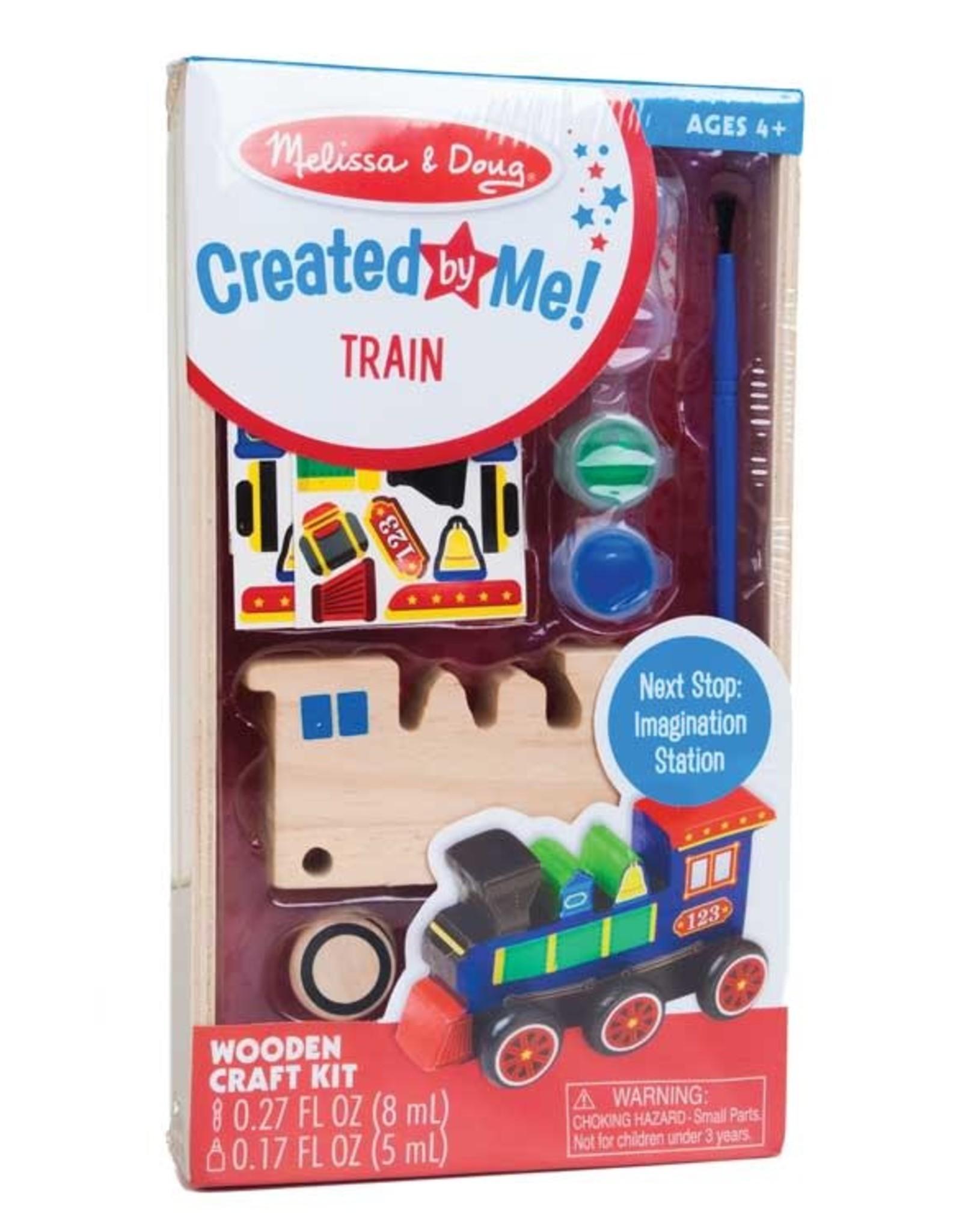 Melissa & Doug Paint your Own Train  Kit