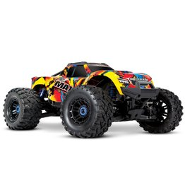 Traxxas Traxxas Maxx 1/10 Brushless RTR 4WD Monster Truck (Solar Flare) w/TQi 2.4GHz Radio & TSM