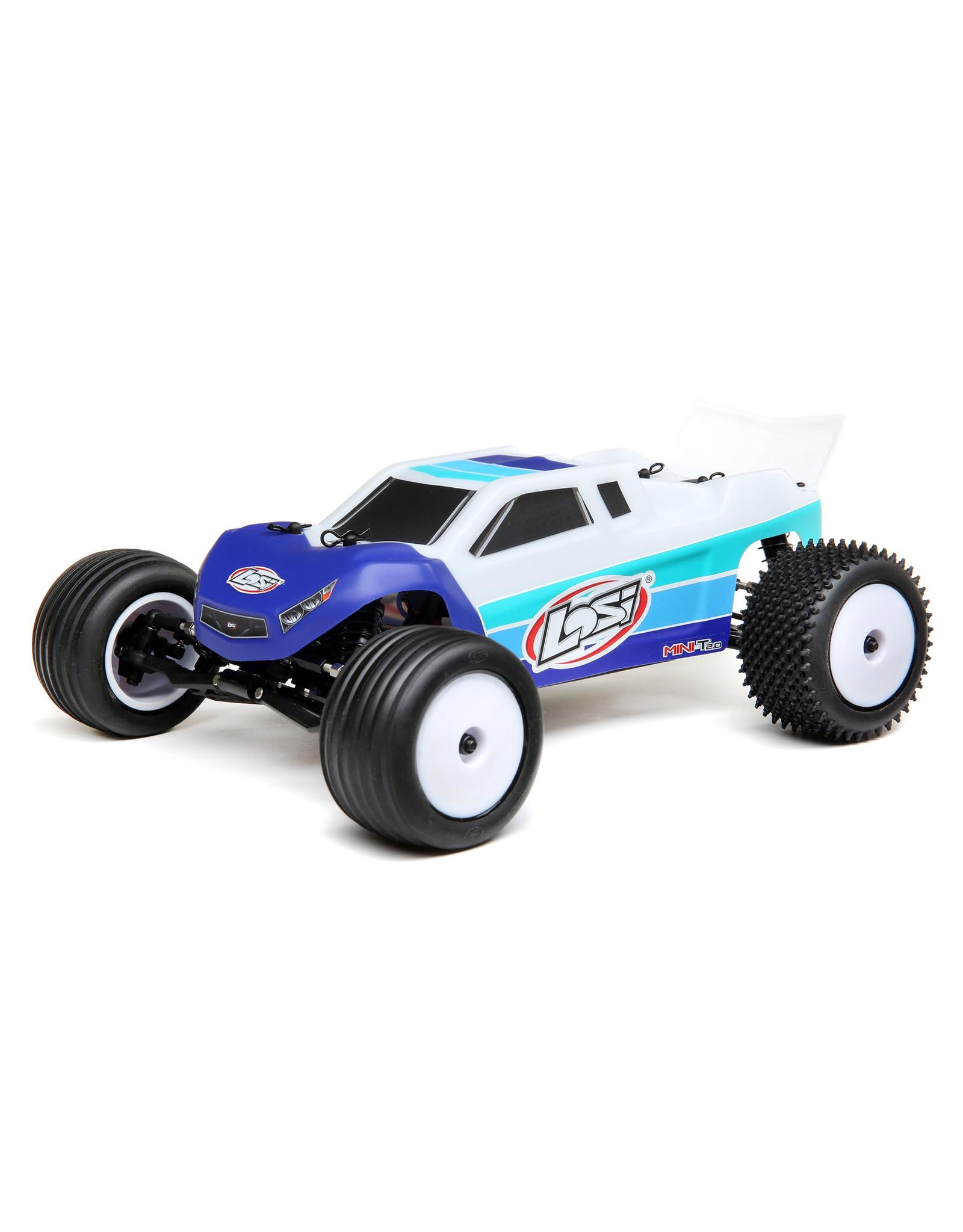 Team Losi Racing Mini T 2.0  1/18 2wd Bl RTR Blue