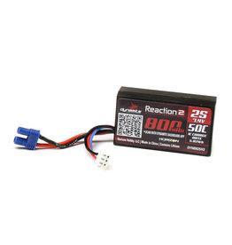 Dynamite 7.4V 800mAh 2S 50C Hardcase LiPo Battery EC2