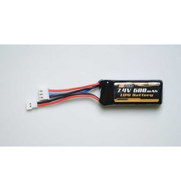 FMS Battery 7.4v 600mAh Lipo: Atlas