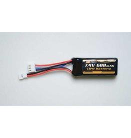 FMS Battery 7.4v 600mAh Lipo: Atlas