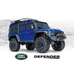 Traxxas TRX-4 Defender blue