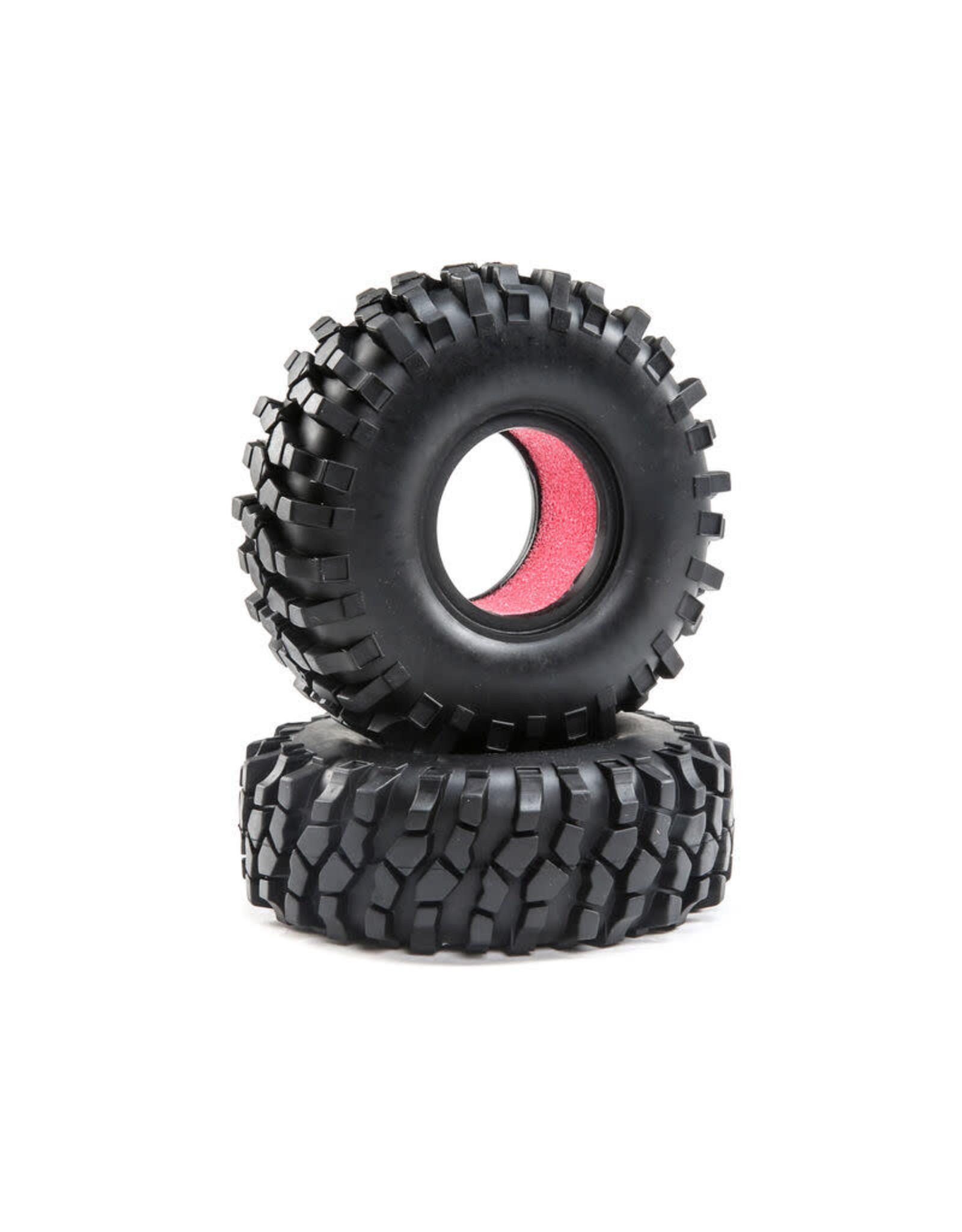 ECX FR/RR Tire with Foam: Temper G2