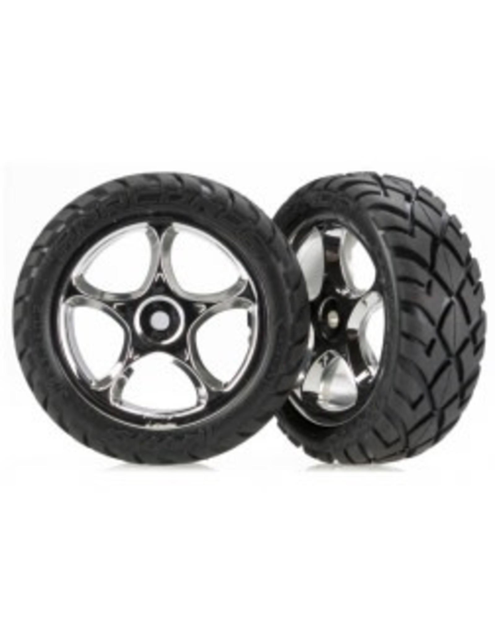 Traxxas T&W BLK Chrm 2.2 Annaconda Tire