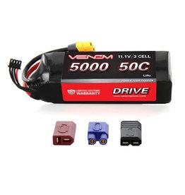 Venom 50C 3S 5000mah 11.1V Lipo Uni 2.0