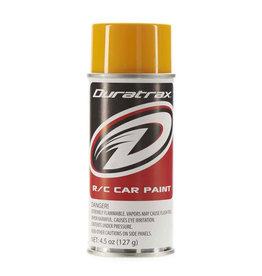 Duratrax Polycarb Spray Bright Yellow 4.5 oz