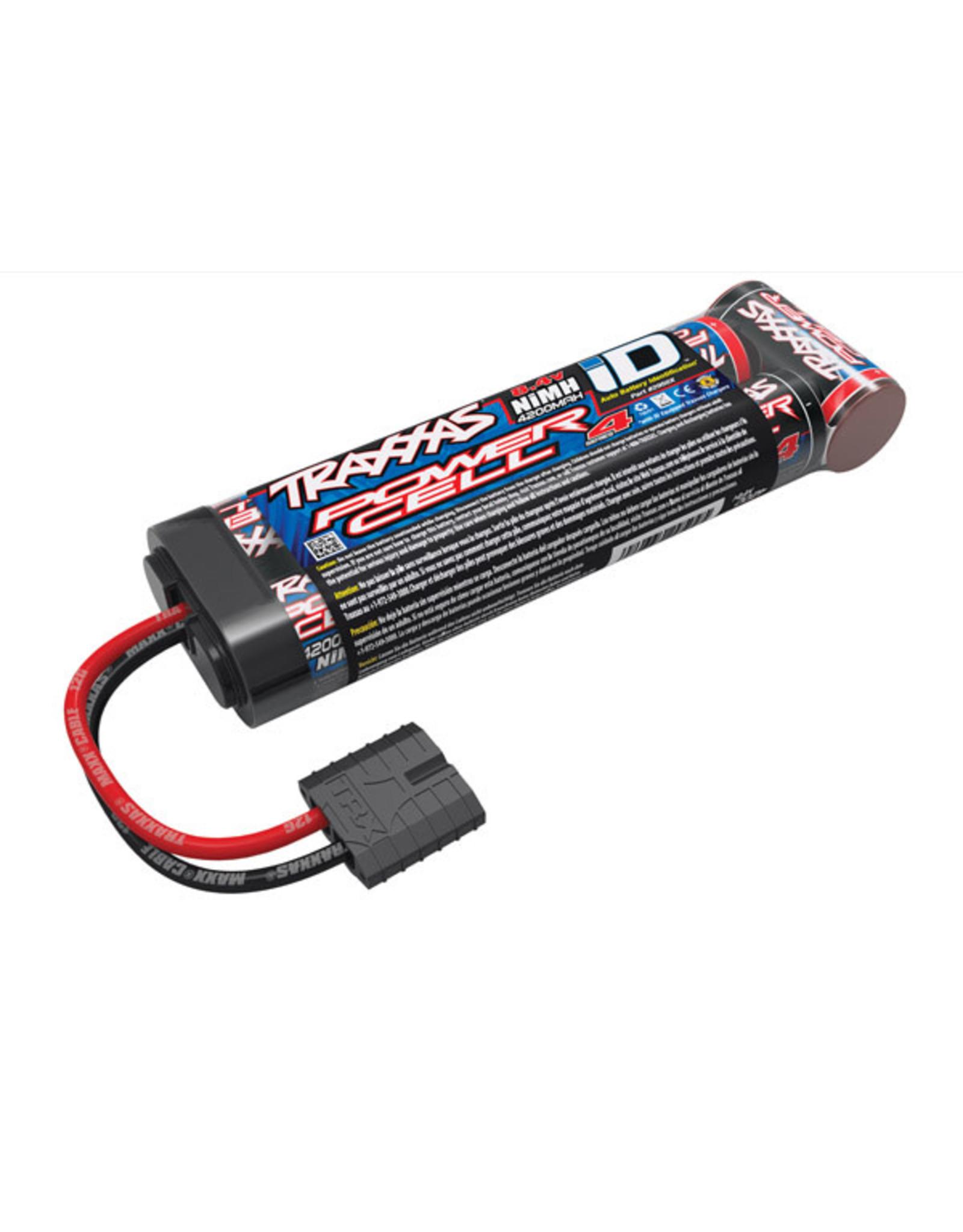 Traxxas Battery, Series 4 Power Cell, 4200mAh (NiMH, 7-C flat, 8.4V)