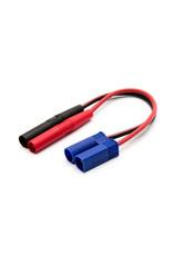Horizon Hobby Insulated Charge Adapter: Banana / EC5 Device