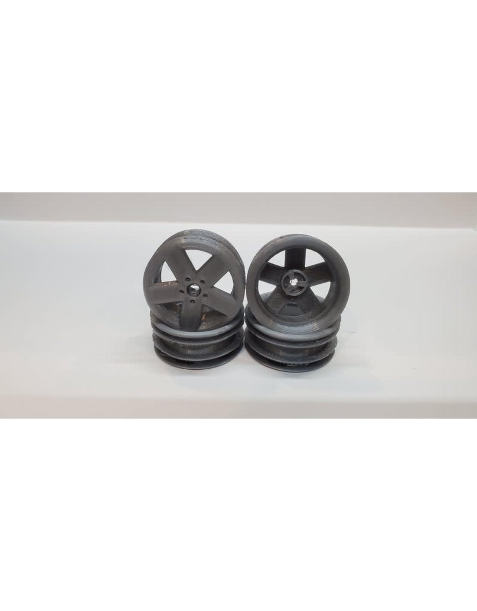 1.1 Wheels for Kyosho Mini-z 4x4 4-runner Jimny, NO ADAPTERS NEEDED!!!