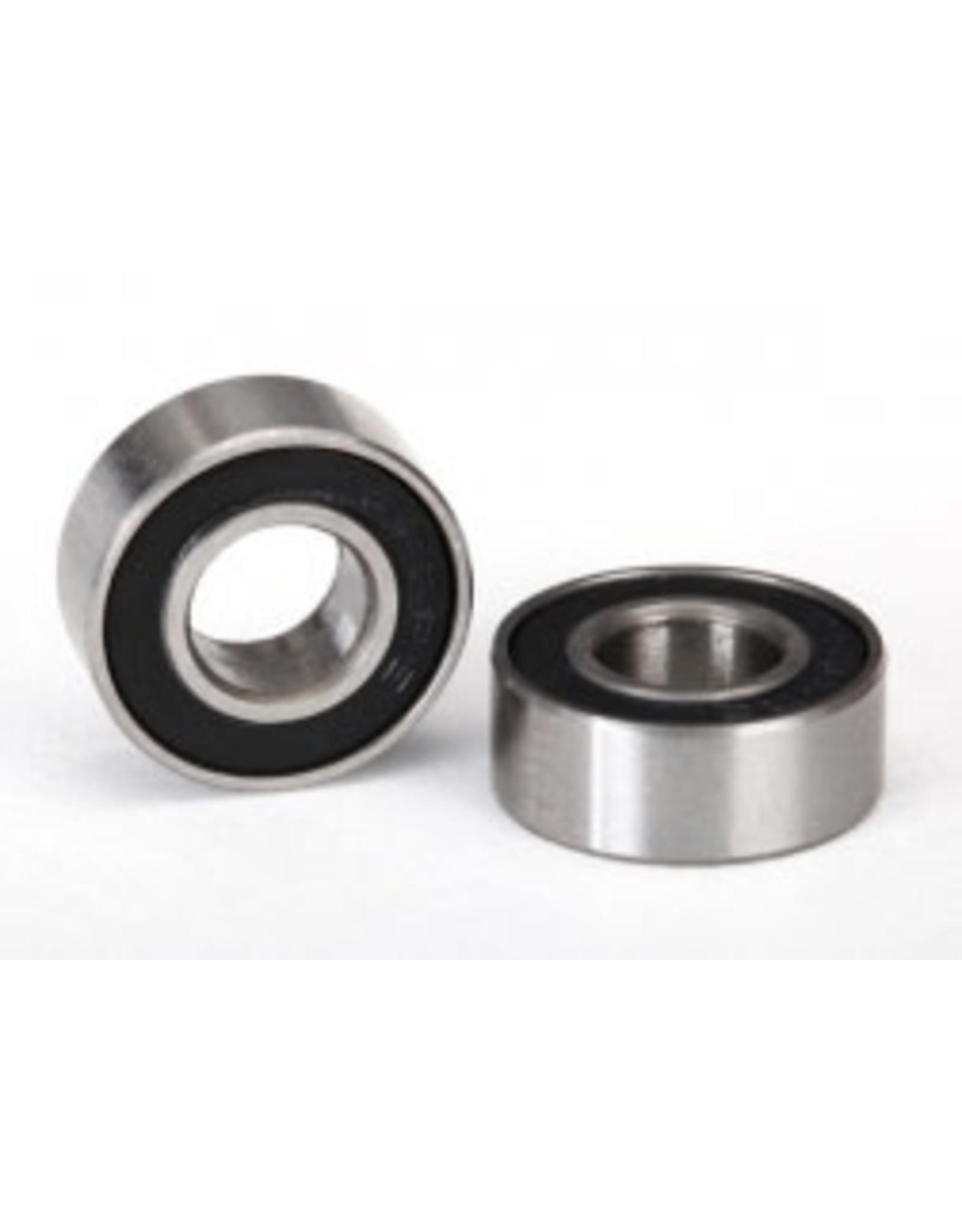 Traxxas Ball Bearings black rubber sealed 5180A