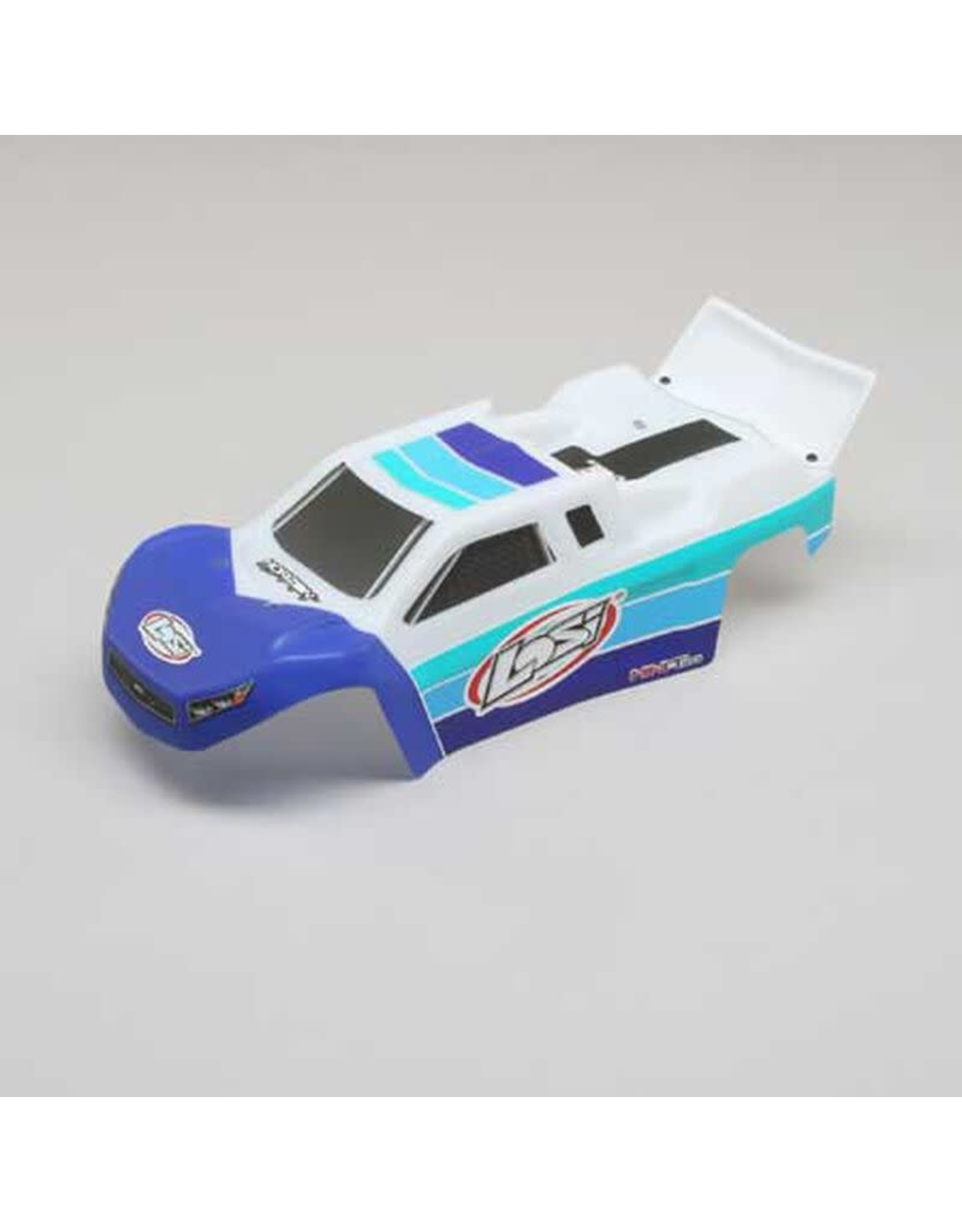 Team Losi Racing Body, Blue: Mini-T 2.0 BL