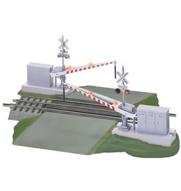 Lionel FasTrack Grade Crossing with Gates and Flashers