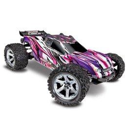 Traxxas Rustler 4x4 vxl Pink,Purple 67076-4