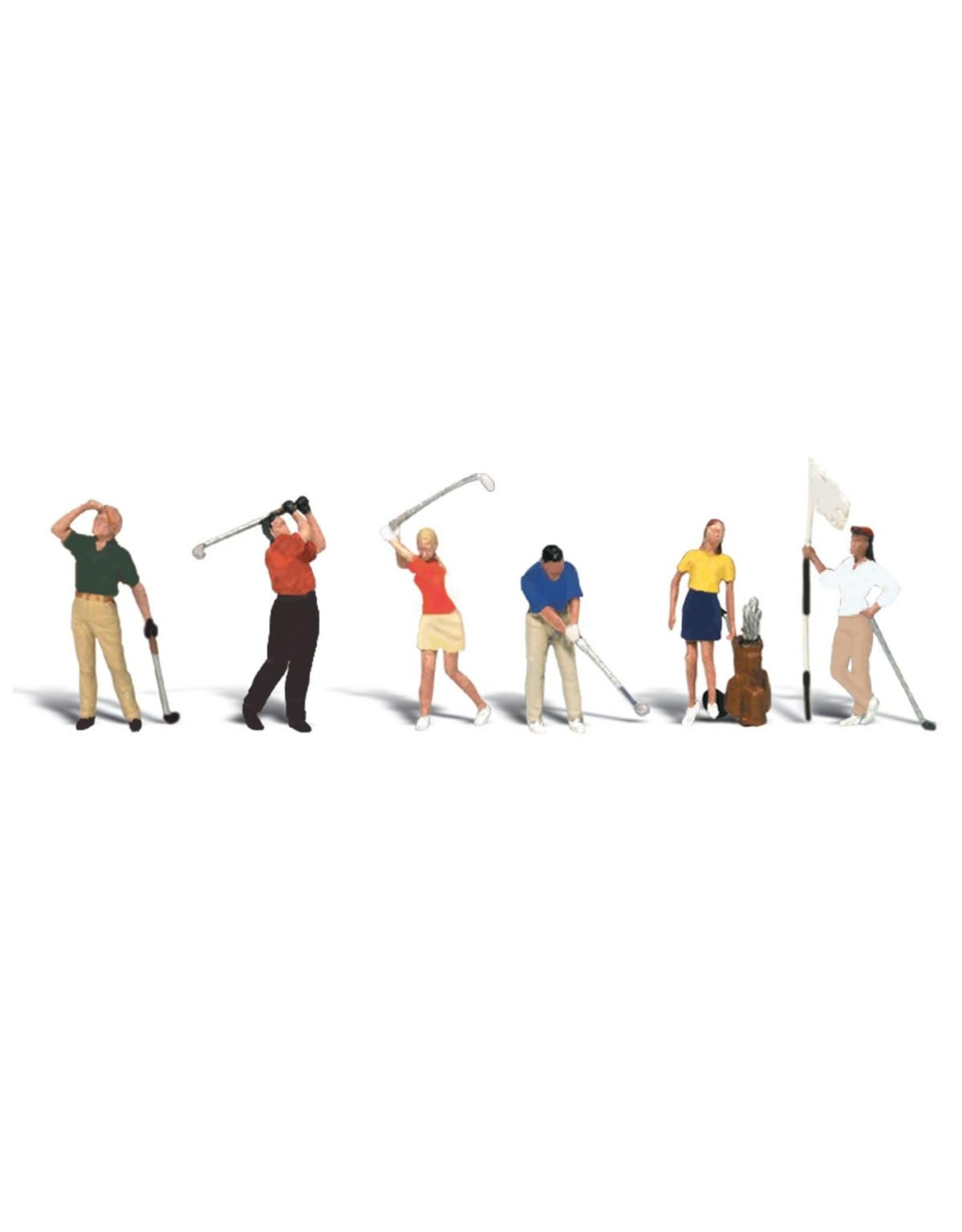 Woodland Scenics Golfers HO 1907