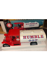 EXXON TOY TANKER TRUCK HUMBLE 997 HUMBLE MOTOR OIL