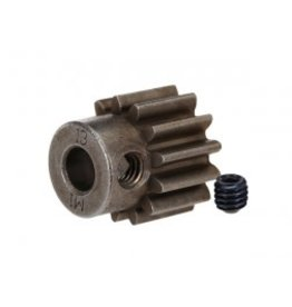 Traxxas Gear, 13-T pinion (1.0 metric pitch) (fits 5mm shaft)/ set screw (for use only with steel spur gears)